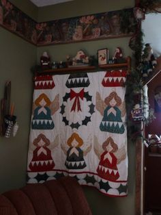 Angel quilt/wall hanging