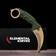Real Lore Karambit - Elemental Knives