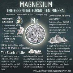 Magnesium - The Essential Forgotten Mineral
