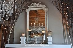 Casual Loves Elegance says this is another Autumn mantel at home.