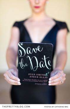 Save the date | Photography: Catherine Mac, Stationery:Susan Brand Designs