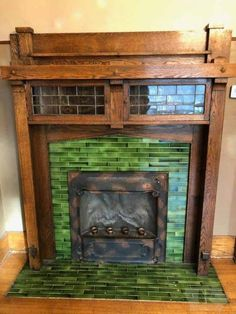 I will attempt this out the instant I can. Decorating Ideas Home – Fireplace tile ideas Craftsman Fireplace, Victorian Fireplace, Home Fireplace, Fireplace Surrounds, Fireplace Design, Fireplaces, Fireplace Ideas, Craftsman Style Interiors, Craftsman Interior