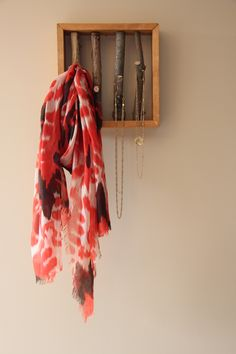 Scarf Hanger, Hanger Rack, Scarf Jewelry, Tree Branches, Coupon, Etsy, Products, Home Decor, Homemade Home Decor