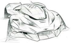 Awesome Aston Martin Sketch  By Herman Santos  #cardesign #cardesigncommunity #cardesignerscommunity #design#sketch#carsketch#designer #디자인#자동차디자인#스케치#자동차스케치#sportscar#aston #astonmartin