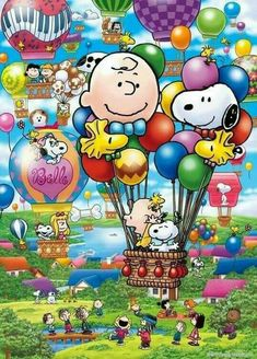 Oh my goodness, peanuts, balloons, color color..where do I pin!😁