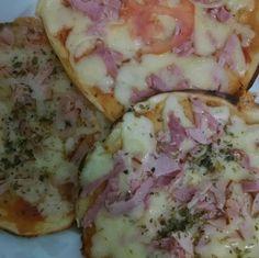 Pizza de liquidificador na frigideira