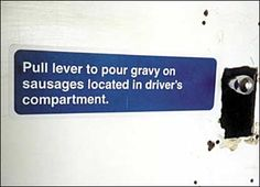 Des autocollants sarcastiques dans le métro de Londres