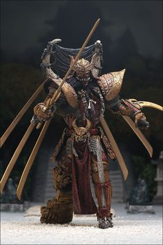 Spawn Series 19 - Dark Ages - Spawn The Samurai Wars - Samurai Spawn 2001
