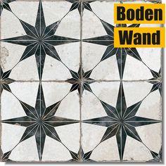 Die FS Star-N von Peronda Ceramicas, eine neue, hochwertige Fliese für Wand und Boden mit Vintage-Einflüssen. Die unterschiedlichen Dekore zeigen den nachgeahmt abgenutzten Charakter alter Keramikfliesen auf glasierten...