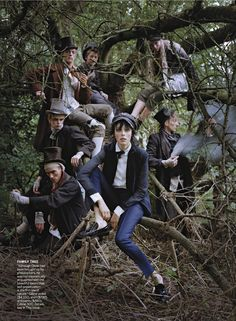visual optimism; fashion editorials, shows, campaigns & more!: dressing like the dickens: edie campbell by tim walker for us vogue december ...