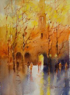 Viktoria Prischedko Watercolors