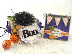Open if you Dare Project was created using products and the Tying Up Loose Ends template from www.mytimemadeeasy.com