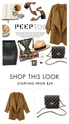 """Peep toe"" by punnky ❤ liked on Polyvore featuring Kershaw and Pierre Hardy"