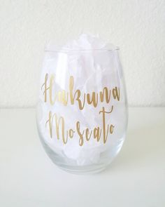 Your place to buy and sell all things handmade Mermaid Drink, Wine Glass Decals, Moscato Wine, Mountain Designs, Bridesmaid Gifts, Vinyl Decals, Cricut, Banks, Wedding Ideas