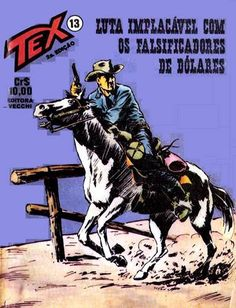 Download de Revista Tex 013 - Luta Implacável com os Falsificadores de Dólares