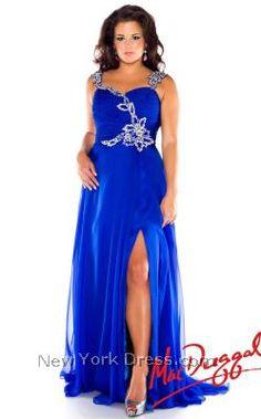 24d40e991bf Mac Duggal 64400F Plus Prom Dresses