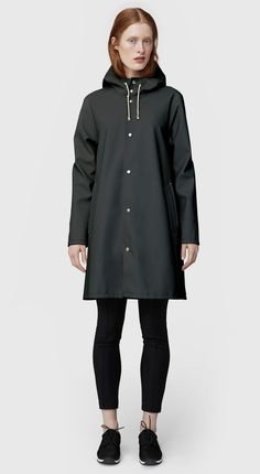 Shop the Mosebacke in Charcoal online. Free worldwide shipping.  - is it wrong to be in love with a raincoat?