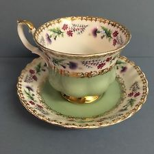 Royal Albert cup & saucer from the Rendezvous Series