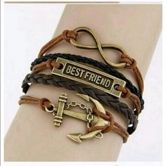 25% off Bundles• New Anchor Best Friend Bracelet Have a friend that was always there for you through thick and thin? If so, this bracelet will be the perfect gift to give that friend to show your appreciation. No swaps. No returns. Jewelry Bracelets