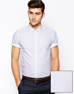 ASOS Smart Shirt In Short Sleeve