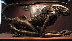 Random Cool: Here is Giger's Unused Xenomorph From 'Alien 3' - Bloody…