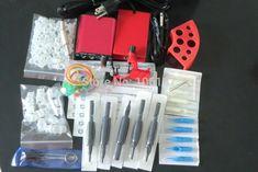 Pro Complete Tattoo Kit  Dragonfly Rotary Tattoo Machine Gun  Power Supply Foot Pedal Needles Grip Tattoo Starter Kit Supply