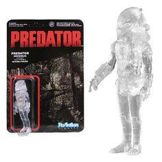 Predator Clear Masked Predator ReAction 3 3/4-Inch Figure