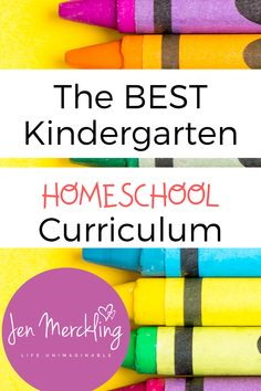 The BEST Kindergarten Homeschool Curriculum!