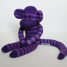 When I Grow Old I Shall Wear Purple sock monkey