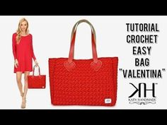 Crowds passionate about crochet, mainly BAGS! Crochet Bag Tutorials, Crochet Videos, Crochet Handbags, Crochet Purses, Easy Crochet, Knit Crochet, Crochet Christmas Gifts, Diy Purse, Simple Bags