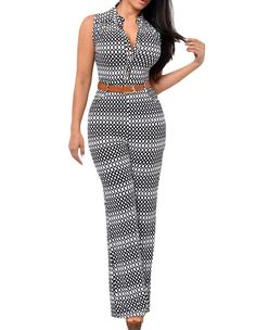 Classic Polka Dots Prints Plunge Button Bodycon Straight-Leg Jumpsuit Product Code: included: one piece of jumpsuitGender: FemaleAge Group: AdultColor:black and whitePattern: polka dotsMaterial: Polyester FiberThe latest stylish and comfy Jumpsuit Dress, Strapless Jumpsuit, African Dress, Jumpsuits For Women, African Fashion, The Dress, Fashion Dresses, Women's Fashion, Latest Fashion
