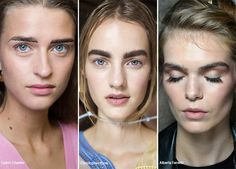 Spring/ Summer 2016 Makeup Trends: Strongly Contoured Thick Eyebrows  #makeup #beauty #trends #ss16