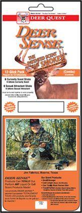 DEER QUEST Deer Quest Combo 6-Sexual Attractant & 6-Curiosity, 12P