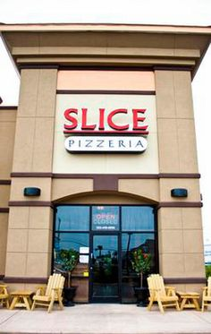 Slice Pizza at the Outer Banks is a locals favorite, located in Kill Devil Hills at the Outer Banks.  The Outer Banks is a foodie paradise boasting some of the best restaurants in NC!