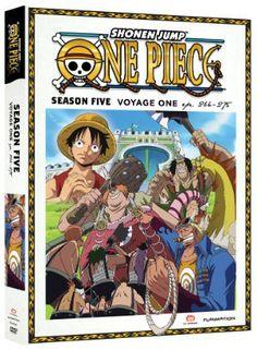 One Piece Season 5 DVD Part 1 (Hyb) Uncut #RightStuf2013
