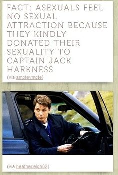 Captain Jack Harkness. He needs more?
