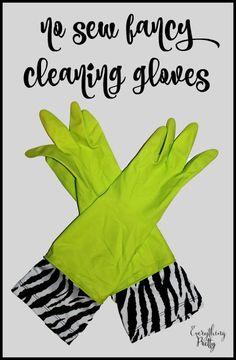 No Sew Fancy Cleanin