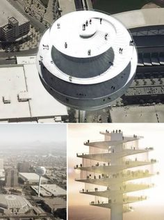 Phoenix Observation Tower (US) ☻ 10 Most Amazing Observation Towers