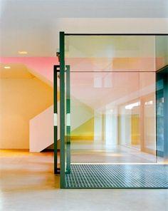 Architekten: Harder Spreyermann / Kunst&Bau: Harald Müller /// Unteres Gästehaus /// Kartause Ittingen, CH