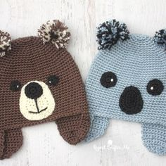 Yarnspirations Caron Collection Koala-ty Hat and Yarn Giveaway!