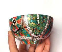 CHAMELEON Porcelain ART BOWLS