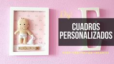 CUADROS PERSONALIZADOS PARA BEBÉS [DIY PASO A PASO] Diy Paso A Paso, Baby Shower, Cover, Frame, Books, Kids Rooms, Home Decor, Youtube, Channel