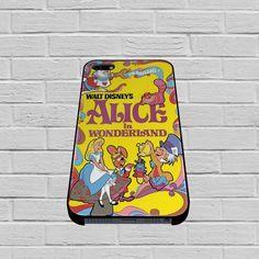 Alice in Wonderland Disney Cover Book case of iPhone case,Samsung Galaxy #case #phonecase #hardcase #iPhone6case