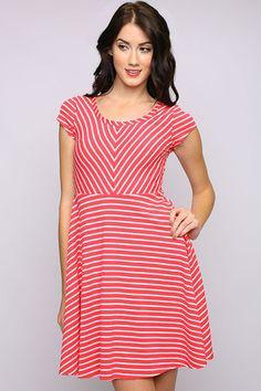 Maria Knit Stripe Dress | Freckles Boutique