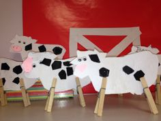 Easy cow craft for farm unit