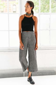 Cooperative Straight Shot Cropped Pant - Urban Outfitters