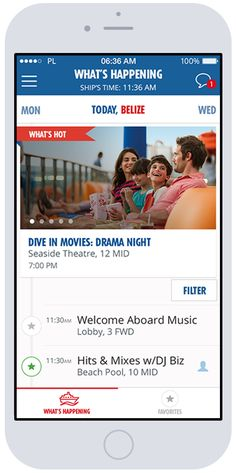 Carnival Hub App - Be sure to download before your CCL #Cruise -