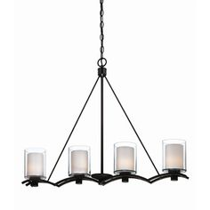 Artcraft Lighting Andover 4 Light Kitchen Island Pendant | Wayfair