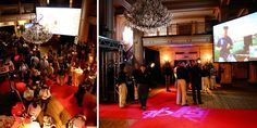 Corporate Event designed by Detail In Design, Inc. - Themed Product Launch - Old Hollywood Glamour!