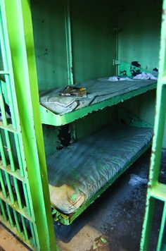 """Stephen Brooks/News Tribune The capitol Punishment cells or """"Death Row"""" at the Missouri State Penitentiary Abandoned Prisons, Old Abandoned Buildings, Abandoned Places, 24 To Life, Prison Inmates, Department Of Corrections, Eastern Philosophy, Insane Asylum, Life Of Crime"""